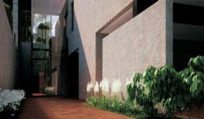 Terracotta farge utefliser som er frostsikre