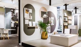 FagFlis Arkitektshowroom  utstilling podie