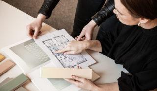 FagFlis Arkitektshowroom arbeidsbord
