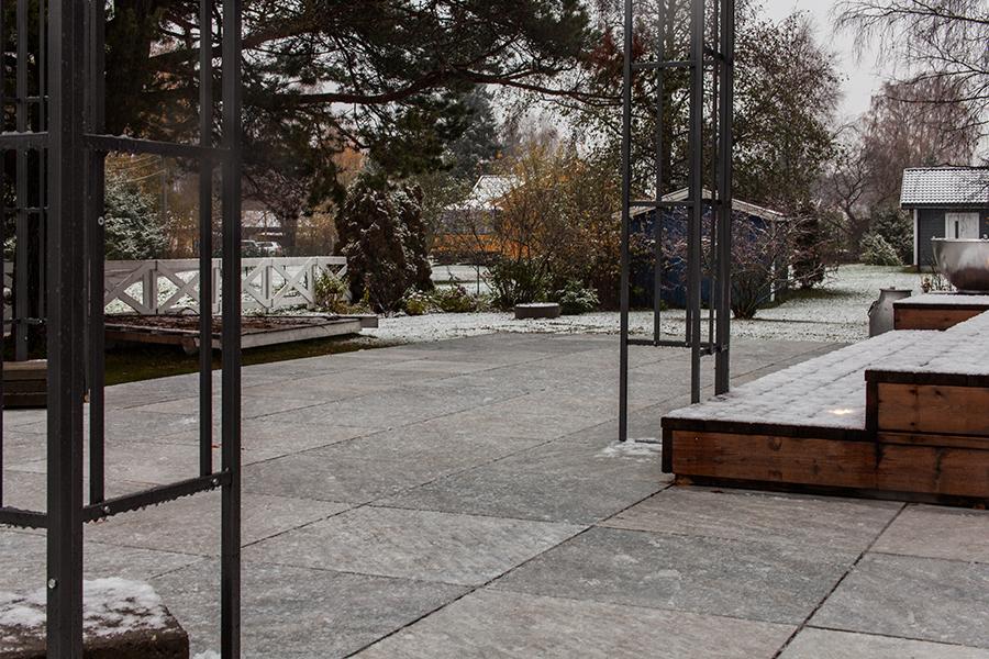 Frostsikre fliser utendørs i Norge