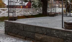 Terrasse med fliser som tåler kuldegrader og frost