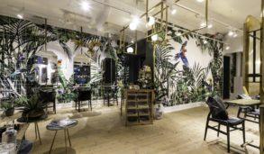 Interiørbilde av Gevir med keramiske fliser fra FagFlis