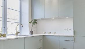 Vedlikeholdsfrie fliser på kjøkkengulvet