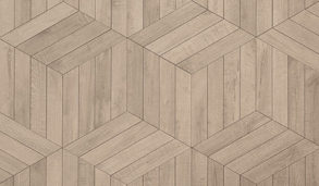 Fliser inspirert av lys eik lagt i mønster