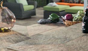 Frostsikre gulvfliser med stor variasjon i fargene