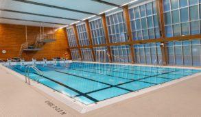 Flislagt basseng ved Idrettshøyskolen