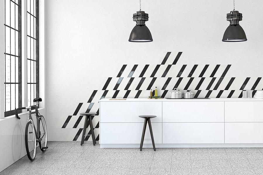 Kjøkkenflis med mønster