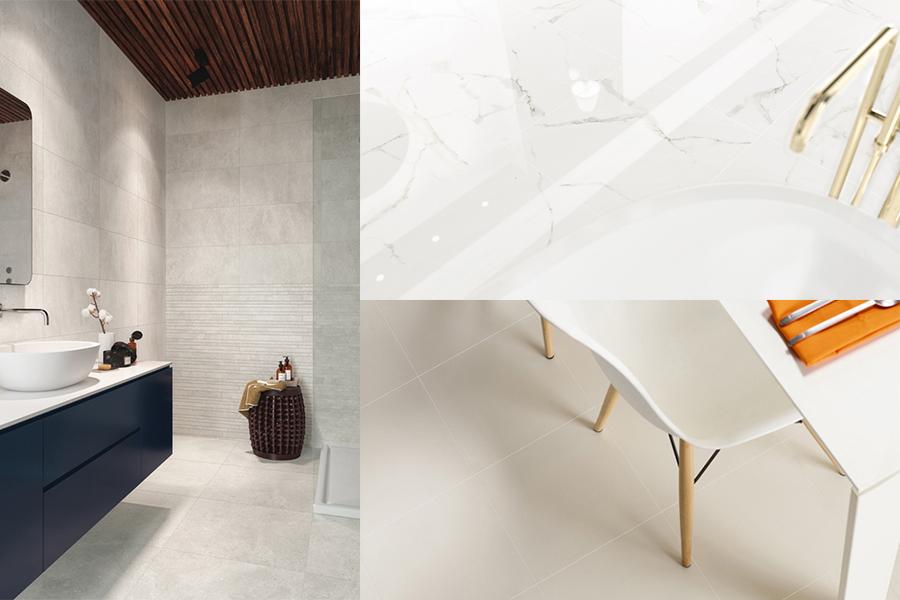 Fliser egnet for gulv og vegg
