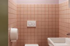 Porsche oslo rosa toalett