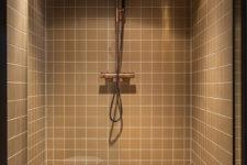 Vipps Oslo  beige fliser i dusjen
