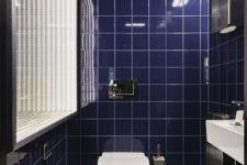 Vipps Oslo Blått toalett