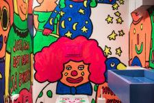 Vipps Oslo barnetoalett med maleri