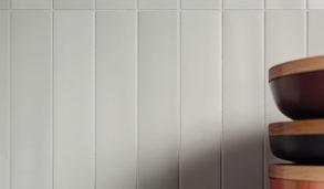 Moderne fliser til kjøkken i sarte nyanser