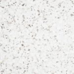 Hvit keramisk terrazzoflis fra Kerion