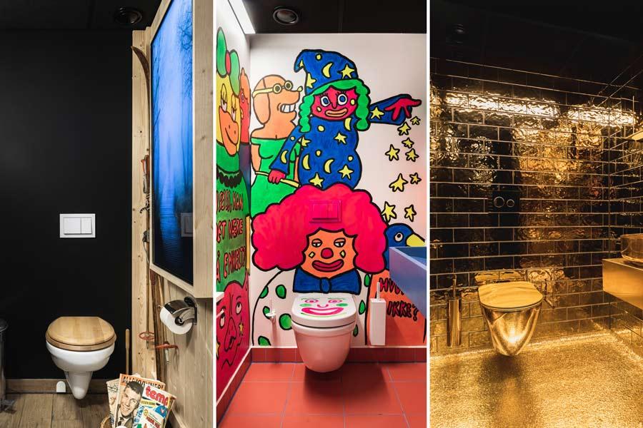 Eksempler på morsomme temaer til toalettrommet